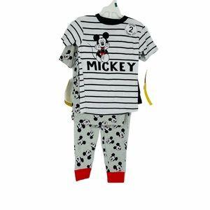 Disney Junior 2 Pair Pajama Set Shorts/Pants - J99
